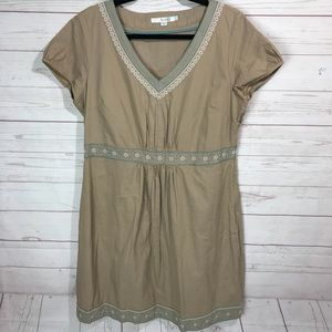Borden | V-Neck Embroidered Sundress Size 12R